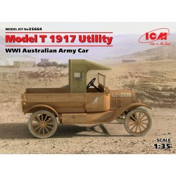 ICM_ MODEL T 1917 UTILITY. WWI AUSTRALIAN ARMY CAR_ 1/35