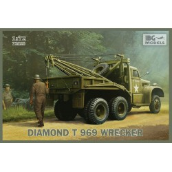 IBG MODELS_ DIAMOND T 969 WRECKER_ 1/72