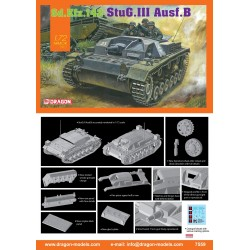 DRAGON_ Sd.kfz.142 STUG.III Ausf.B_ 1/72 ARMOR PRO