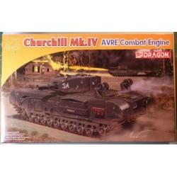 DRAGON_ CHURCHILL Mk.IV AVRE COMBAT ENGINE_ 1/72 ARMOR PRO