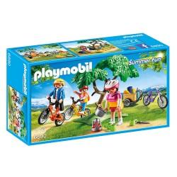 PLAYMOBIL_ SUMMER FUN_ PASEO EN BICICLETA DE MONTAÑA