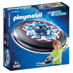 PLAYMOBIL_ SPORTS & ACTION_ DISCO VOLADOR CELESTIAL CON ALIEN