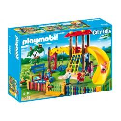 PLAYMOBIL_ CITY LIFE_ ZONA DE JUEGOS INFANTIL