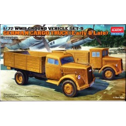 ACADEMY_GERMAN CARGO TRUCK (EARLY & LATE)_1/72