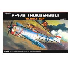 ACADEMY_ P-47D BUBBLE TOP_ 1/72