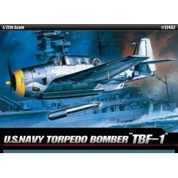 ACADEMY_ TBF-1, US NAVY TORPEDO BOMBER_ 1/72