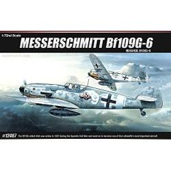 ACADEMY_ MESSERSCHMITT BF109G-6_ 1/72