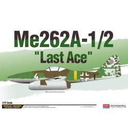 """ACADEMY_ ME262A-1/2 """"LAST ACE""""_ 1/72"""