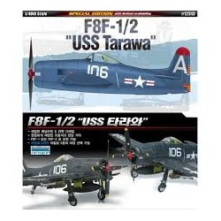 """ACADEMY_ F8F-1/2 """"USS TARAWA""""_ 1/48"""