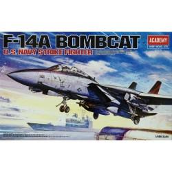 ACADEMY_ F-14 BOMCAT US NAVY STRIKE FIGHTER_ 1/48