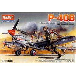 ACADEMY_ P-40B_ 1/72