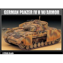 ACADEMY_PANZER IV Ausf.H WITH ARMOUR. GERMAN MEDIUM TANK_1/35