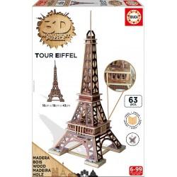 EDUCA_ TOUR EIFFEL. 3D MONUMENT PUZZLE