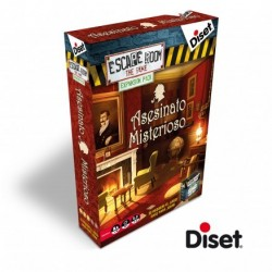 DISET_ ASESINATO MISTERIOSO-ESCAPE ROOM THE GAME-EXPANSION PACK
