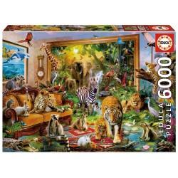 EDUCA_ ENTRANDO EN LA HABITACION_ PUZZLE 6000 piezas.