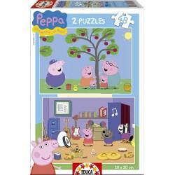 EDUCA_ PEPA PIG_ PUZZLE 2x48 piezas.