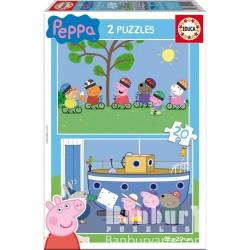 EDUCA_ PEPA PIG_ PUZZLE 2x20pcs.