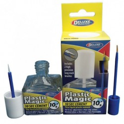 DELUXE_ PLASTIC MAGIC. 10 segundos. PEGAMENTO RÁPIDO PARA PLASTICO
