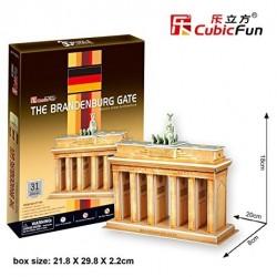 CUBIC FUN_ THE BRANDENBURG GATE, 3D PUZZLE