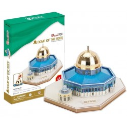 CUBIC FUN_ DOME OF THE ROCK, 3D PUZZLE