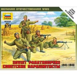 ZVEZDA_ SOVIET PARATROOPERS 1941-1943_ 1/72