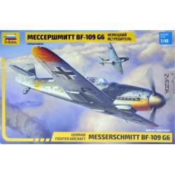 ZVEZDA_ MESSERSCHMITT BF-109 G6. GERMAN FIGHTER AIRCRAFT_ 1/48
