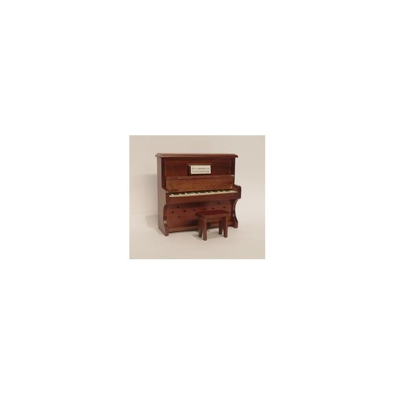VEGA MINI_ PIANO DE PARED COLOR CAOBA _ 1/12