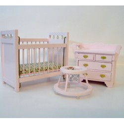 VEGA MINI_ DORMITORIO INFANTIL COLOR ROSA_ 1/12