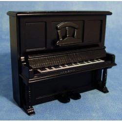 DOLLHOUSE-STREETS AHEAD_ PIANO DE PARED COLOR NEGRO_ 1/12