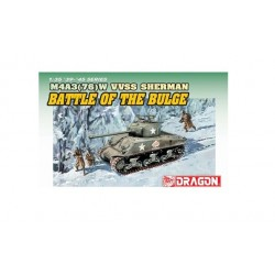DRAGON_ M4A3(76) VVSS SHERMAN BATTLE OF THE BULGE_ 1/72 ARMOR PRO