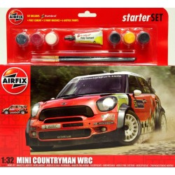 AIRFIX_ MINI COUNTRYMAN WRC (STARTER SET)_ 1/32