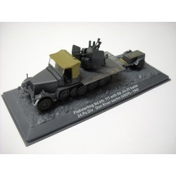 Flakvierling Sd.kfz.7/1 with Sd.Ah.51 trailer 24.pz.Div Don river sector (USSR) 1942